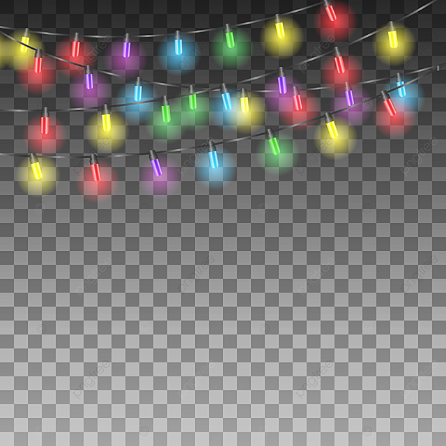 background with holiday lights  balloon  balloons