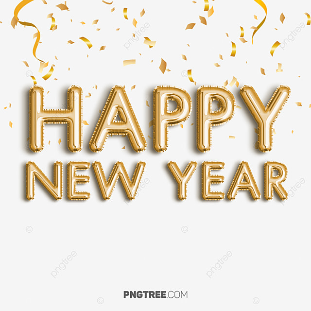 Beautiful Minimal Happy New Year Text Art Newyear Happy Newyear 2019 Png Transparent Clipart Image And Psd File For Free Download