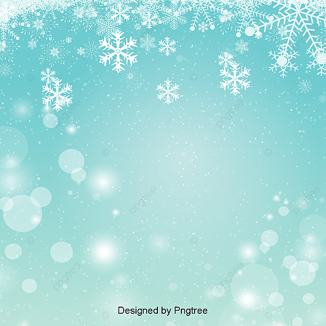 simple beautiful green winter christmas new year background under the snow winter
