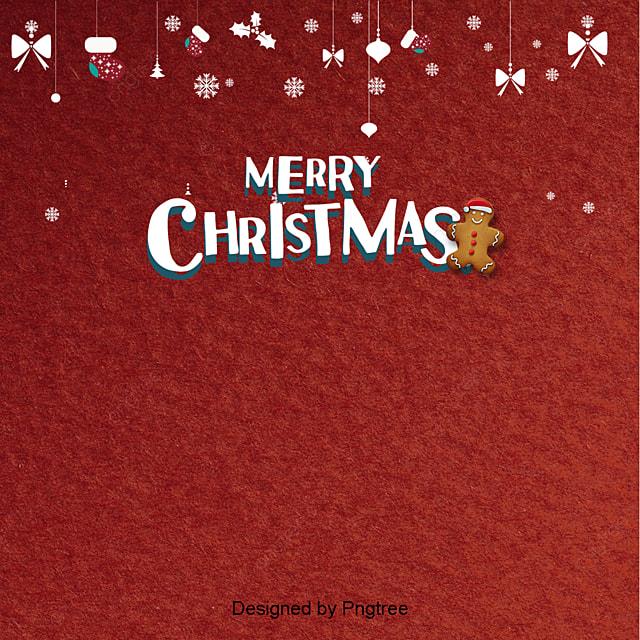 Semplice Sfondo Rosso Di Natale Il Colletto Alto I Fiocchi Di Neve