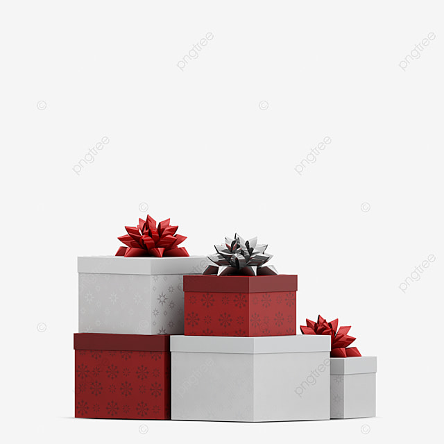 Christmas Holiday 3D Object Rendering, Christmas, Card