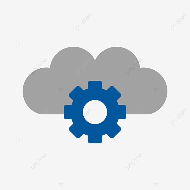 Cloud Settings Vector Icon, Cloud Icon, Setting Icon, Settings Icon