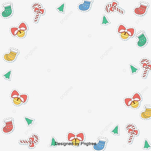 Il Giorno Di Natale Del Vettore Piatta Cornice Illustrazione Di Pan