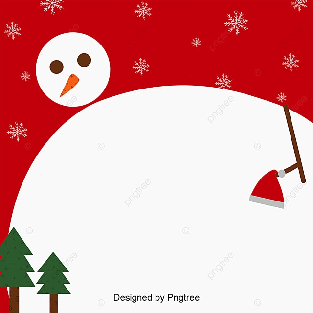 A Simple Christmas Snowman Wallpaper, Cute, Snow, Snowman