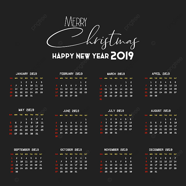 Free Downloadable 2016 Calendar Template from png.pngtree.com