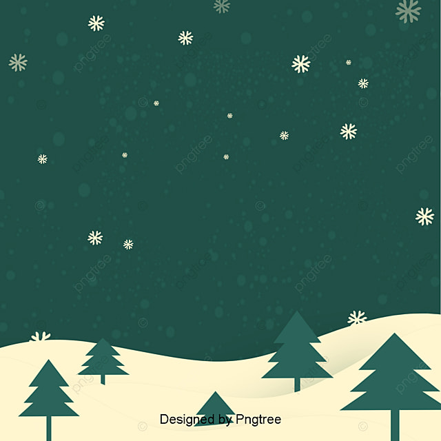 Background Design Of Dark Green Simple Christmas Style Christmas