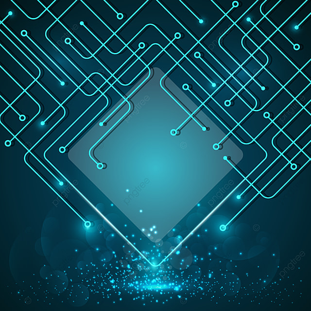 blue technology background  background  tech  circuit png