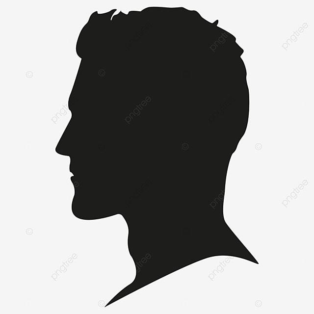 les hommes la silhouette t u00eate libre male silhouette t u00eate