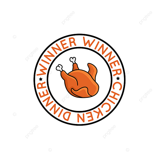 Winner Winner Chicken Dinner Badge For Pubg Game Winner Chicken