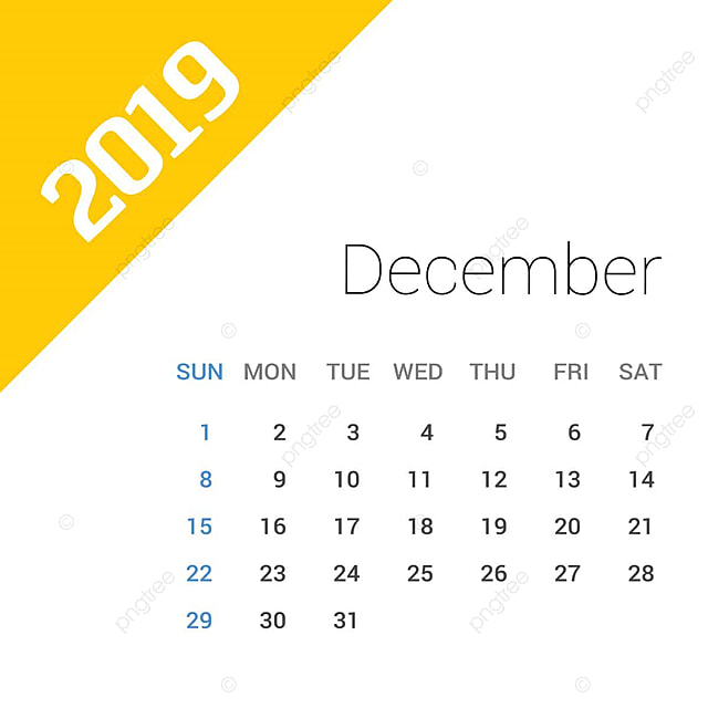 2020 December Calendar Background 2019 Happy New Year December Calendar Template Christmas