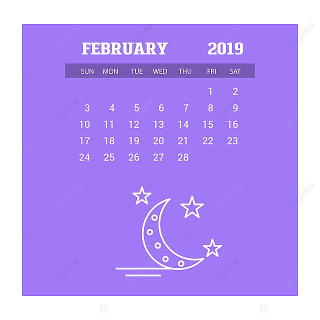 February Calendar 2020 Background 2019 Happy New Year February Calendar Template Christmas