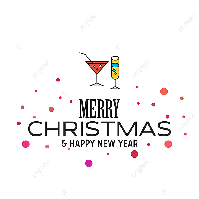 merry christmas and happy new year 2019 dotted background background ball banner png