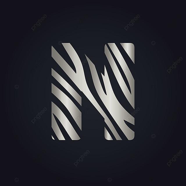 n letter logo vector design initial letter n logo design abstract advertising