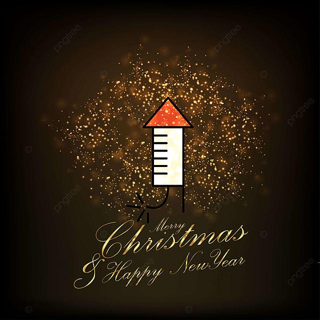 Buon Natale Glitter.Buon Natale E Felice Anno Nuovo Glitter Sfondo L Arte Il Contesto