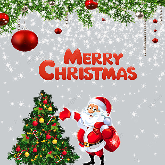 Merry Christmas, Happy Christmas, 2018 PNG and PSD File for Free ...