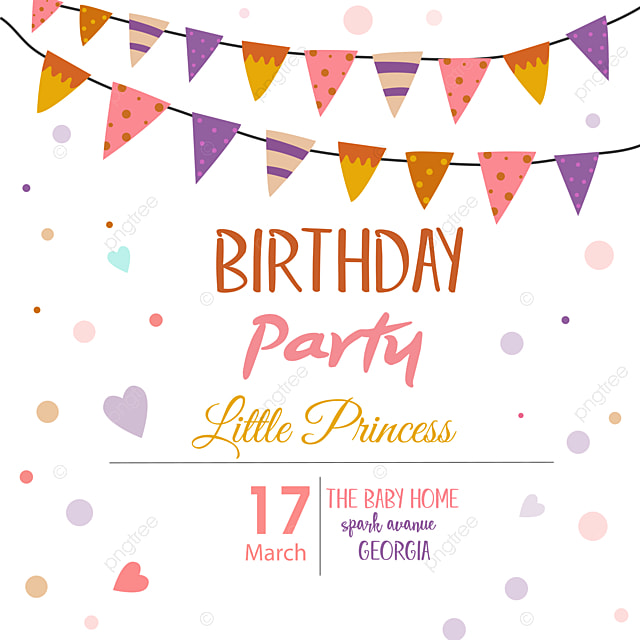 birthday party invitation design party invitation card design