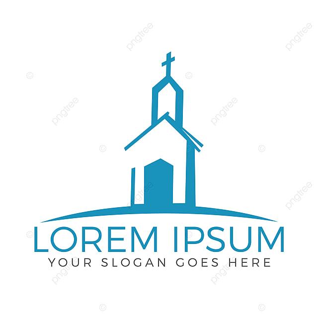 Creation De Logo Pour Le Batiment De L Eglise Clipart Eglise Abstrait Appartement Png Et Vecteur Pour Telechargement Gratuit