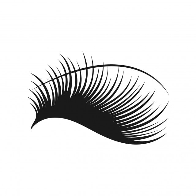 eyelashes logo icon design template vector  icon  graphic