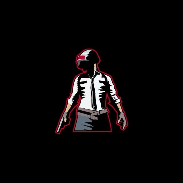 Man With Gun Logo Mascot E Sport For Pubg Game Or Etc Pubg Man