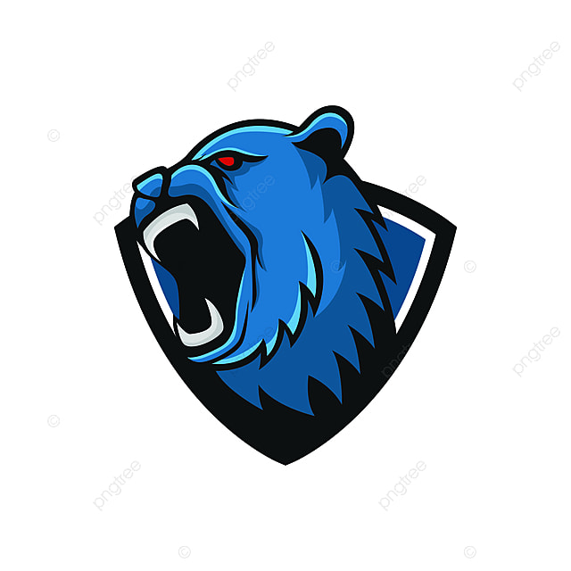 Bear Logo Mascot Design Head Wildlife Sport Illustration Emblem
