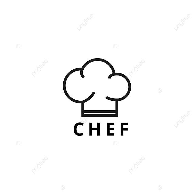 the chef logo design template vector illustration logo