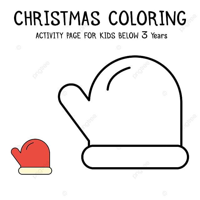 クリスマス 塗り絵 無料 簡単 Saruwakakun