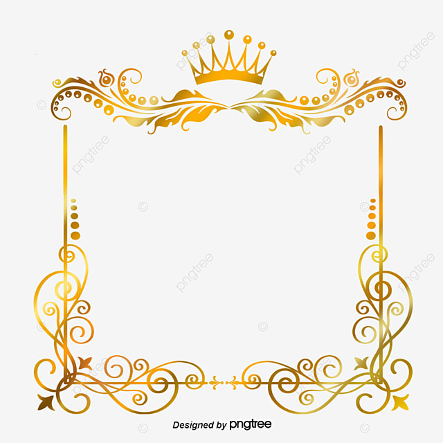 747202b62a50 The Frame Pattern Flower Square Gold Crown