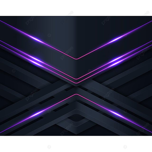 Black Paper Cut Background With Purple Shining Background