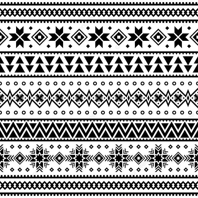Joyeux Noël Modèle Ethniqueconception Illustration