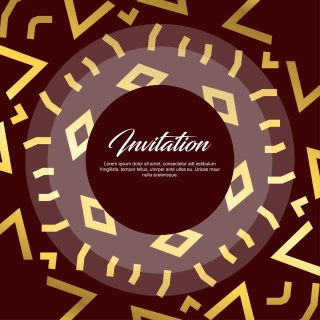 Invitation Card Creative Design Invitation Card Design Vector Free