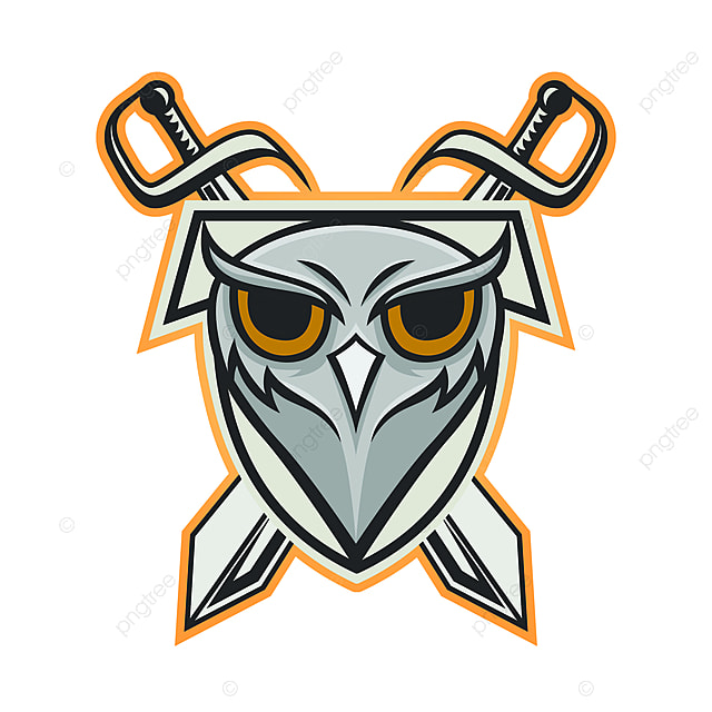 Owl Vector Mascot Design Sport Animals Illustration Emblem