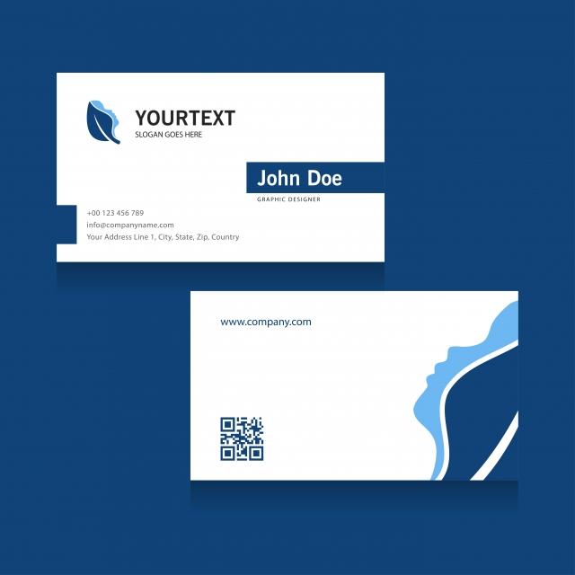 Publicite La Conception De Couverture Bleue M Spa Carte Visite Gratuit PNG Et Vecteur