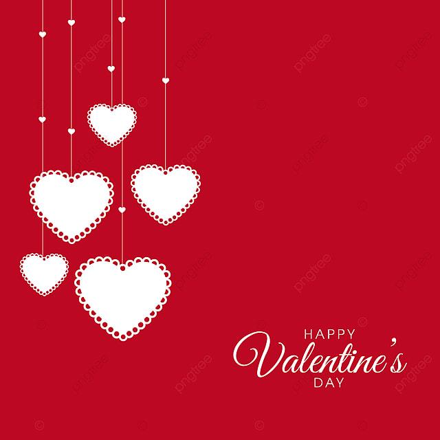 Valentine S Day Illustration With Pink Background Minimal Design
