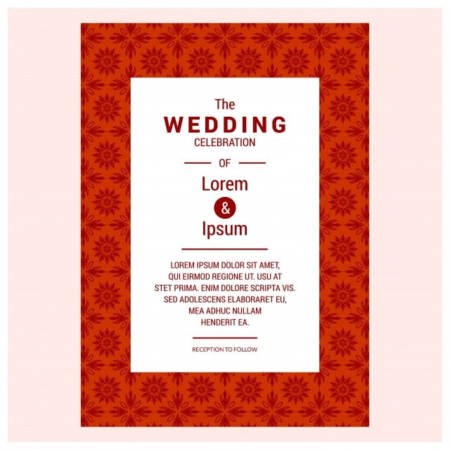 Vintage Wedding Invitation Design Sets Include Invitation