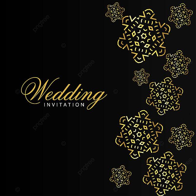Wedding Cards Design Vector Wedding Invitation Card Design