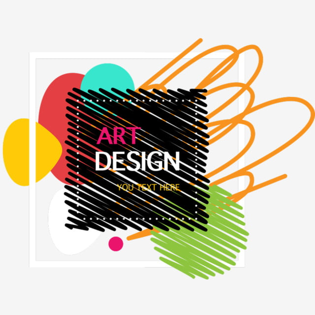 Abstract Shape Border Template Geometry Fashion Line Flat Png And