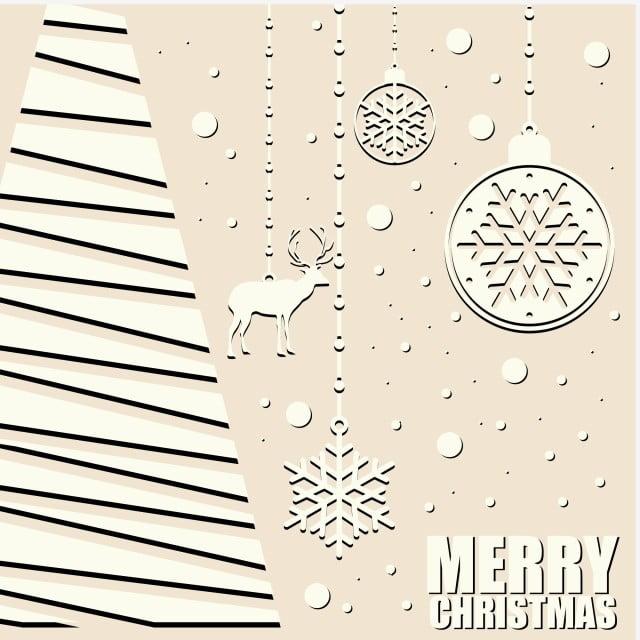 Beautiful Merry Christmas Card Template Christmas Merry