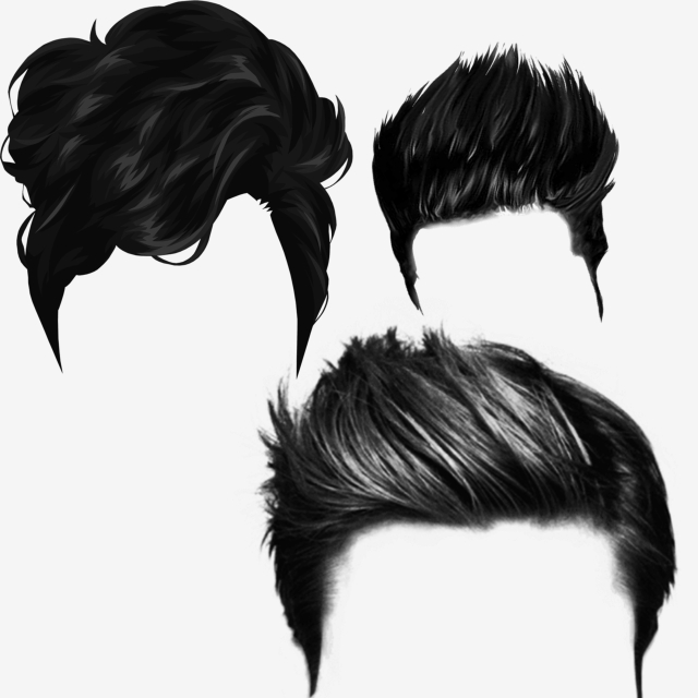 Hair Psd Free Download: Hair, Menhair, Psdhair, Hairforphotoshop PNG Transparent