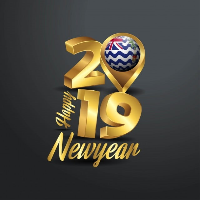 happy new year 2019 golden typography with british indian ocean new icons happy icons british icons png and vector with transparent background for free download pngtree