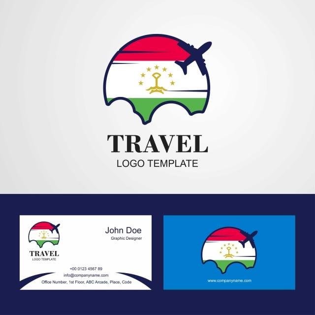 La Carte De Visite Du Voyage Et Le Logo Conception Gratuit PNG Vecteur