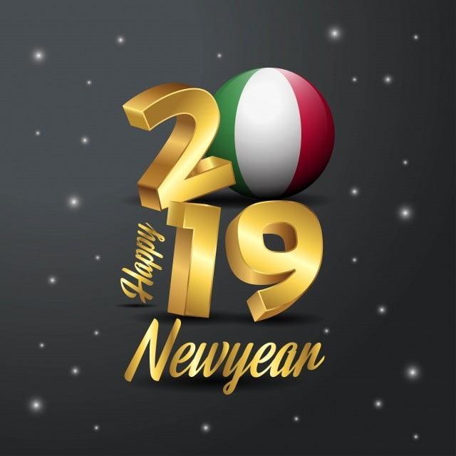 Carte Bonne Fete En Italien.Bonne Anne Bonne Annee 2019 En Italien