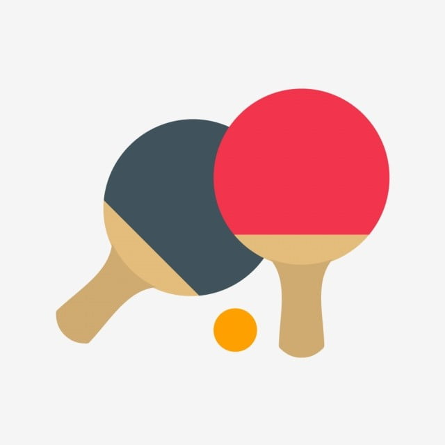 vector ping pong ic u00f4ne conception appartement glyphe png