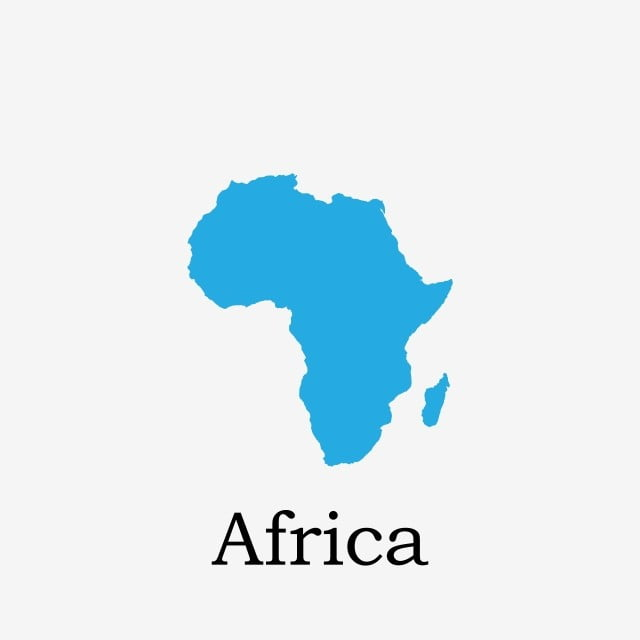 Africa Map Vector Art.Africa Map Africa Continent Location Png And Vector For