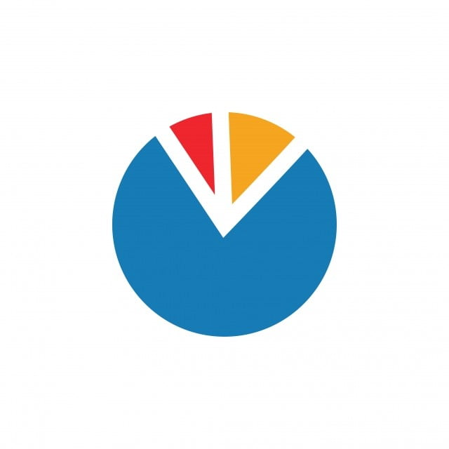 Pie Chart Graphic Icon Design Template Logo Symbol Design Png And