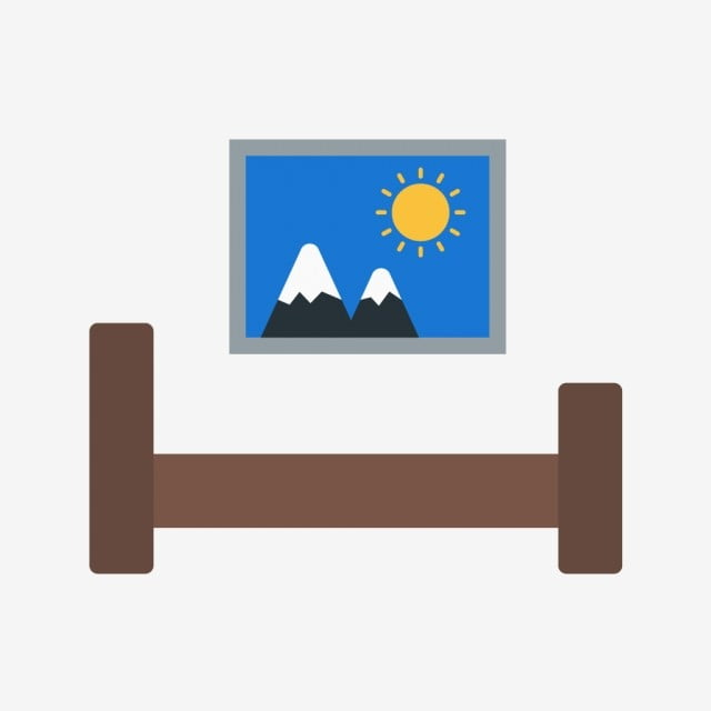 Vector Bed Room Icon Living Room Icon Bedroom Icon Bed