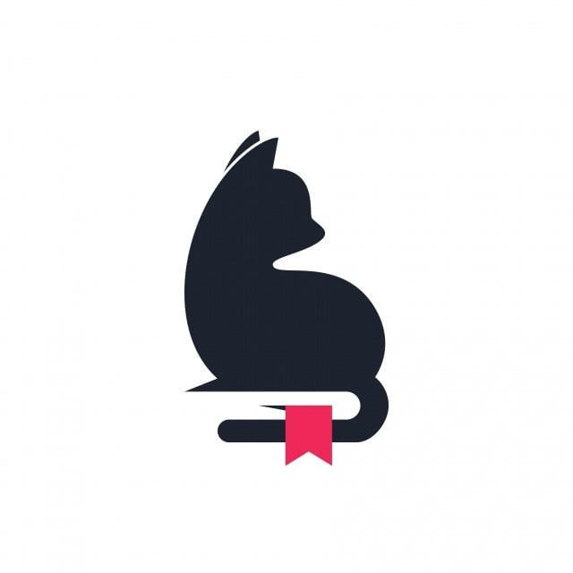 Cat Livre Vector Logo Animal Livre Livre Logo Png Et