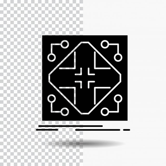 Data Infrastructure Network Matrix Grid Glyph Icon On Transp On Icons 3d Application Png And Vector With Transparent Background For Free Download