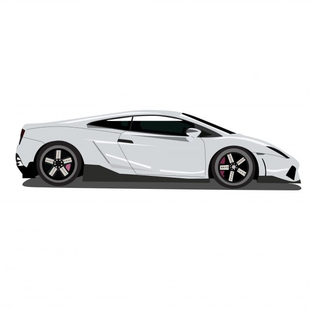 Lamborghini Car Vector Lamborghini Car Vector Art Png And Vector