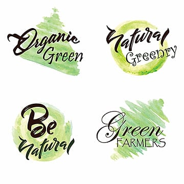 Watercolor Green Leaves Logo Collection, Leaf, Leaves, Tree PNG and Vector