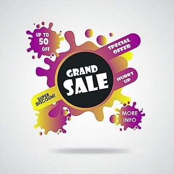 Vector Sale Banner, Sale, Banner, Header PNG and Vector